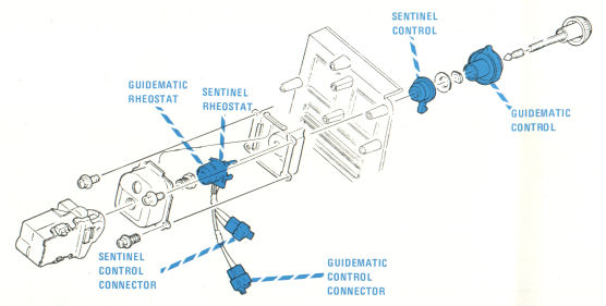 Exploded View of Light Switch