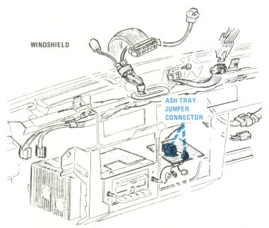 Center of Dash Wiring