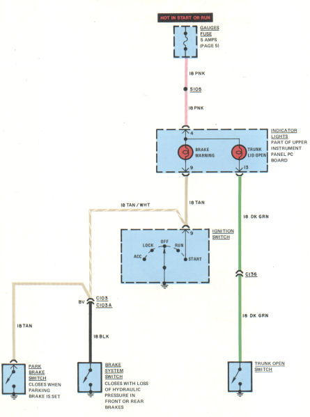 76 to '79 cadillac seville home page light relay diagram c216, trunk lock solenoid